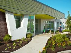 Flance Early Childhood Center at Murphy Park - Trivers Learning Centers, Early Learning, Early Childhood Centre, Porch And Balcony, Architect Magazine, Garden Office, Sustainable Living, School Design, Sustainability