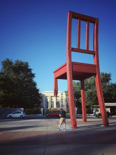 Broken Chair, Place des Nations, Geneva, Switzerland