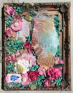 Wonderful World of Crafting : Owl for Mixed Media Supplies