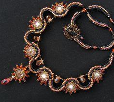Phoenix Diamond necklace by Cielo Design, via Flickr