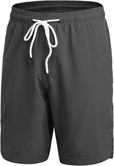 f00f8f0fd3a Luffy Mens Athletic Gym Shorts Elastic Waist - Quick Dry Stretchable for  Running