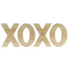 """XOXO, Letters   Walnut Hollow - Craft Basswood Country Rounds® - Thick 7""""-9"""" $ 9.99"""