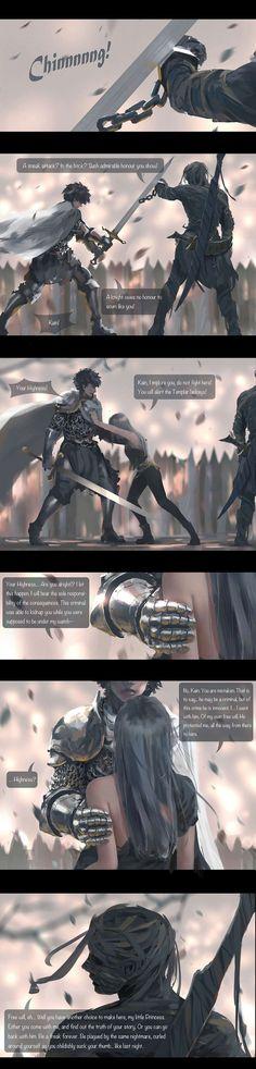 GhostBlade :: Chapter 4: Nightmare (Part III) | Tapastic Comics - image 1