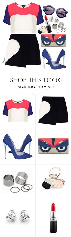 """""""~This is gonna be the best day of my life~"""" by maloops ❤ liked on Polyvore featuring Topshop, MSGM, Christian Louboutin, House of Holland, Fendi, Pieces, By Terry, Georgini, MAC Cosmetics and chic"""