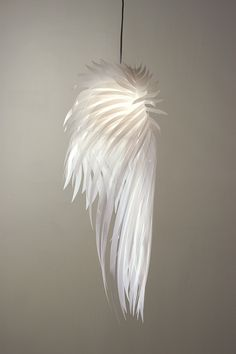 Légère comme une plume - Lampe plume