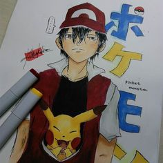 Shared by kitsunenekohime #gameboy #microhobbit (o) http://ift.tt/1TIh0bj! Not as good as I expected but whatever   Tags: #pokemon #japan #anime #manga #otaku #videogame #retro #gaming #retrogaming  #ash #red #pikachu #sketch #nintendo #copic #marker #pencil #drawing #nostalgic #nostalgia