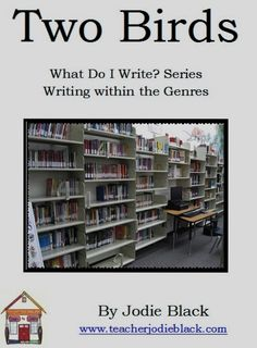 Visit teacherjodieblack.com to order this series of four guides. Help your primary students write within the Common Core genres.
