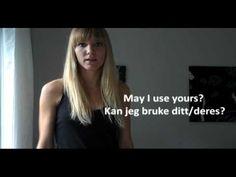 Norwegian Language: Small Sentences part 3