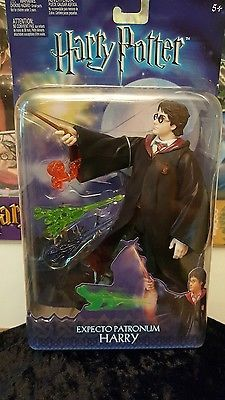 Mattel C3145 Harry Potter-Expecto Patronum 8 Deluxe Action Figure Doll, 2003, 5+