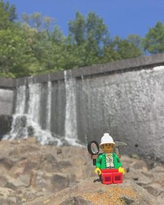 Nothing like enjoying #WaterfallWednesday with my exploring #LegoLadyLucy from this weekend's adventure at Chimney Rock Park! This place is only 15 minutes from my house and has a great series of trails to enjoy hiking or biking. There was also a pretty cool frisbee golf course too but I don't know too much about the sport but it looked challenging. When I think about the places I've brought this Lego lady it's amazes me at first that this little you has been to more places some people have…