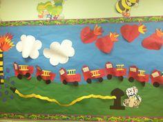 Community helpers bulletin board by the wonderful Miss Carly K.
