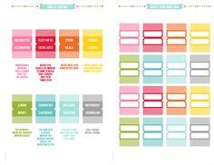 MissTiina.com » 2014 Planner » A5 Half