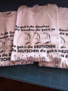 Shirts individuell auf Bestellung bedruckt