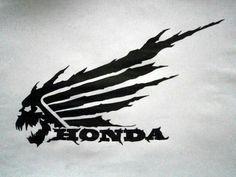 Idea for race bike tank decal Motos Honda, Honda Cb, Honda Bikes, Honda Motorcycles, Custom Motorcycles, Custom Bikes, Honda Scrambler, Logo Moto, Bike Stickers