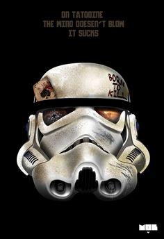 Stormtrooper [Painting] #starwars #stormtrooper #painting