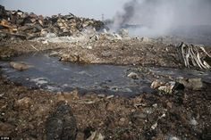 Hundreds of tonnes of cyanide stored at warehouse in China blast