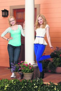 Dove Cameron as Liv and Maddie Rooney on Liv and Maddie on Disney Channel