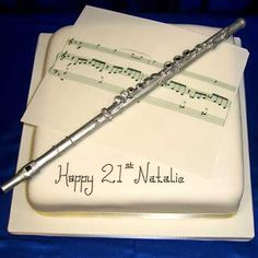 music cakes   Sheet Music Birthday Cake   Julies Cake House
