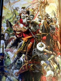 Polish Hussars relieving the Siege of Vienna Military Art, Military History, Battle Of Vienna, Historical Art, Art History, Poland History, Modern Warfare, Illustrations, Medieval
