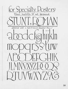 Hand Lettering Alphabet, Script Lettering, Calligraphy Alphabet, Lettering Styles, Handwritten Fonts, Calligraphy Fonts, Typography Letters, Typeface Font, Creative Lettering