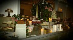 Stunning desert bar @ tonight's wedding @ Watsons Bay Boutique Hotel, Sydney!