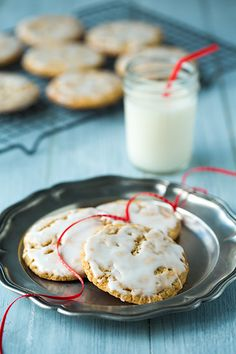 old fashioned iced oatmeal cookies | Cooking Classy