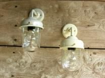Frome Lamp Outdoor Sconces, Exterior Lighting, Mason Jar Lamp, Garden Inspiration, Decorative Bells, Light Fixtures, Wall Lights, Table Lamp, Curtains