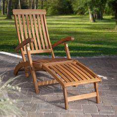 Dorado Steamer Deck Lounge Chair