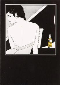 Schweppes Plakat von Patrick Nagel - Famous Last Words