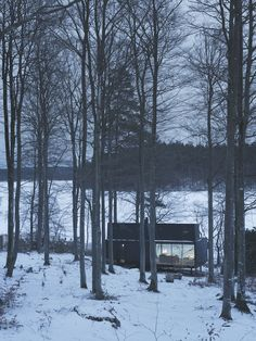 Sometimes it snows in April - Vipp shelter