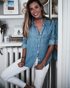 denim dream | marta carriedo in the ingrid