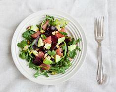 Beet, avocado & grapefruit salad Recipe