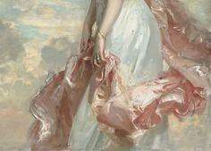 detail, John Singer Sargent, 'Miss Mathilde Townsend', 1907, National Gallery of Art