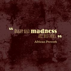 Anger and madness are brothers. Wise Quotes, Quotable Quotes, Words Quotes, Qoutes, African Words, African Quotes, Ancient Greek Quotes, Mugabe Quotes, African Proverb