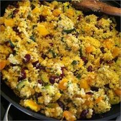 Quinoa Stuffing add cinnamon and nutmeg for a twist