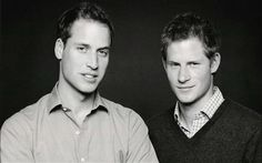 Prince William and Prince Harry, royal brothers