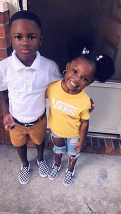 Cute Mixed Babies, Cute Black Babies, Black Baby Girls, Beautiful Black Babies, Cute Twins, Cute Babies, Cute Kids Fashion, Cute Outfits For Kids, Toddler Outfits