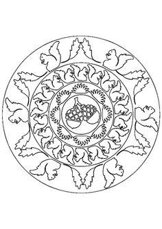 174 Best Fall Mandalas images