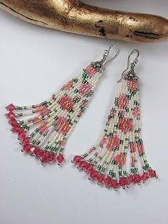 """AB Delcas shimmer - wonderful bead """"fabric"""" pattern"""