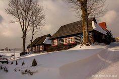 Village winter, Slovakia