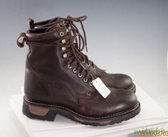 Tony Lama TW2006 8 inch Men's Cowhide Packer Work Boot 8.5 D New #TonyLama #WorkSafety