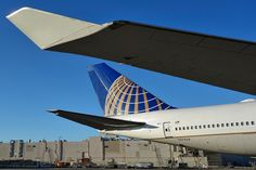 United Airlines 747 SFO 2014