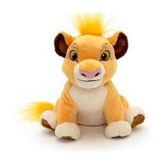 Mini peluche Simba en microbilles Disney