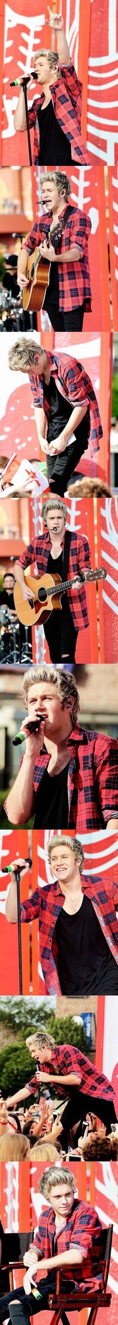 Niall Horan on the Today Show on FOUR release day in Nov 2014