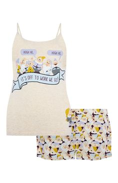Primark - Disney zeven dwergen-pyjamaset