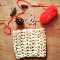 Crochet Shell Stitch Cowl - in a lighter yarn and smaller hook,this would be nice for boot cuffs.