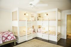 Girl's room - built-in bunk beds - Karen Kempf Interiors    Copyright 2012 Milwaukee Magazine/Adam Ryan Morris