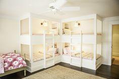 Girl's room - built-in bunk beds - Karen Kempf Interiors    Copyright 2012 Milwaukee Magazine/Adam Ryan Morris