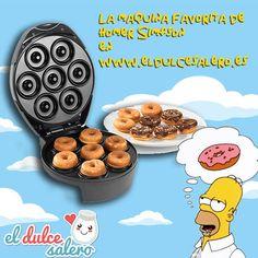 Consigue la máquina de Rosquillas de Homer http://www.eldulcesalero.es/tristar/Mquina-de-Donuts-DM-1147_2005