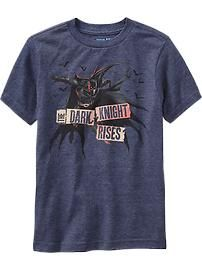 Boys Batman Dark Knight Rises Tee